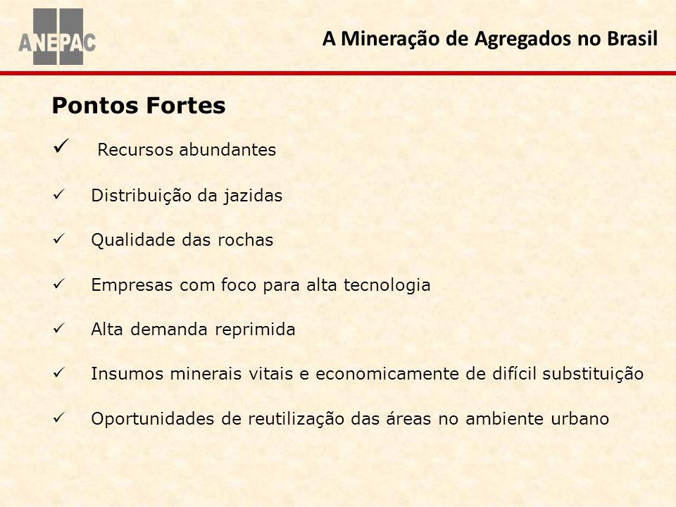 A Mineração de Agregados no Brasil
