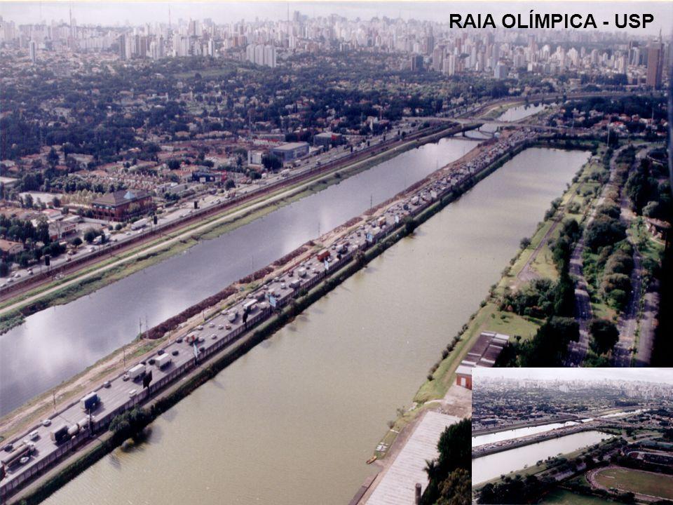 RAIA OLÍMPICA - USP Pedreira Riúma
