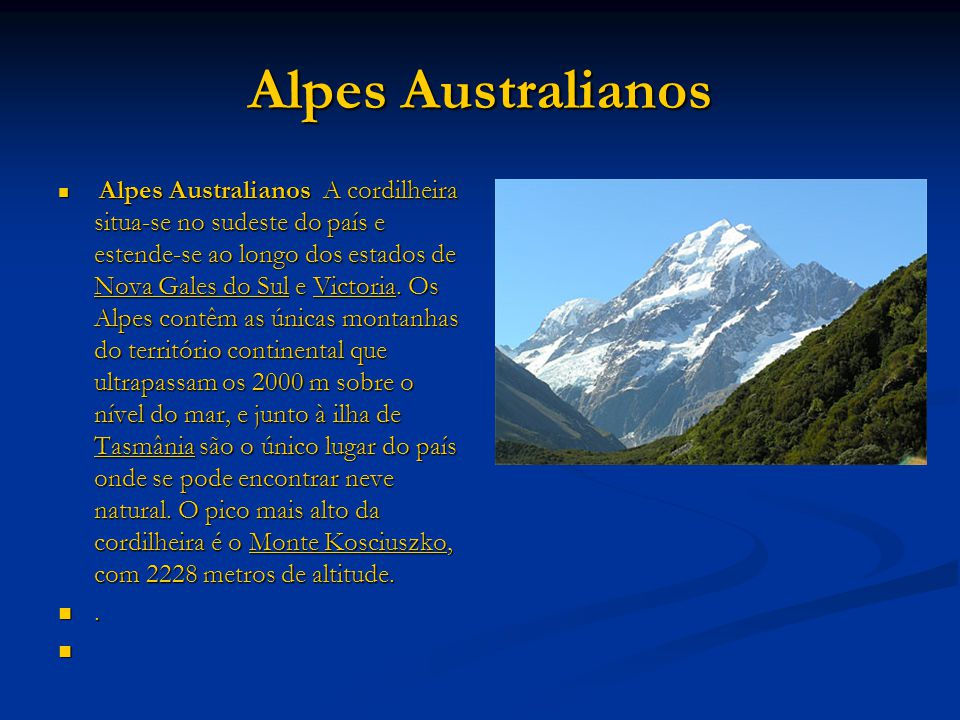Alpes Australianos