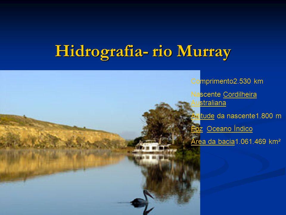 Hidrografia- rio Murray