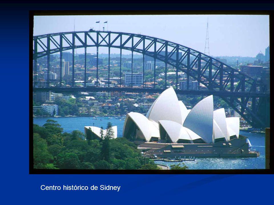 Centro histórico de Sidney