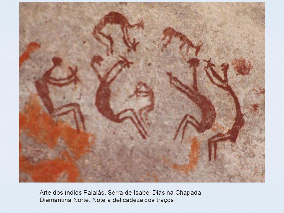 Arte dos índios Paiaiás