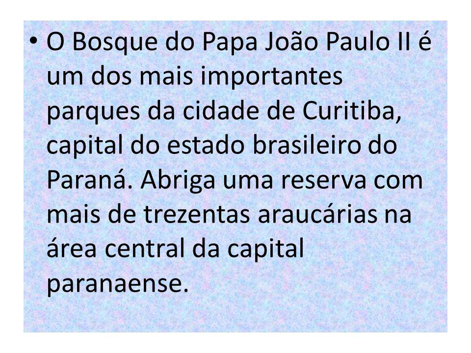 O Bosque do Papa João Paulo II é um dos mais importantes parques da cidade de Curitiba, capital do estado brasileiro do Paraná.