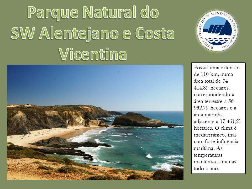 Parque Natural do SW Alentejano e Costa Vicentina