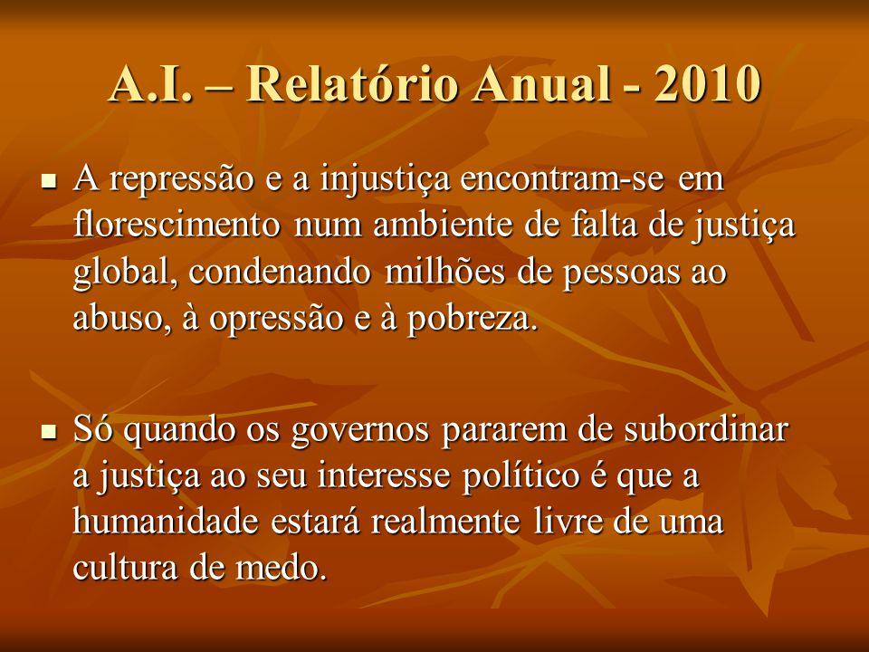 A.I. – Relatório Anual - 2010