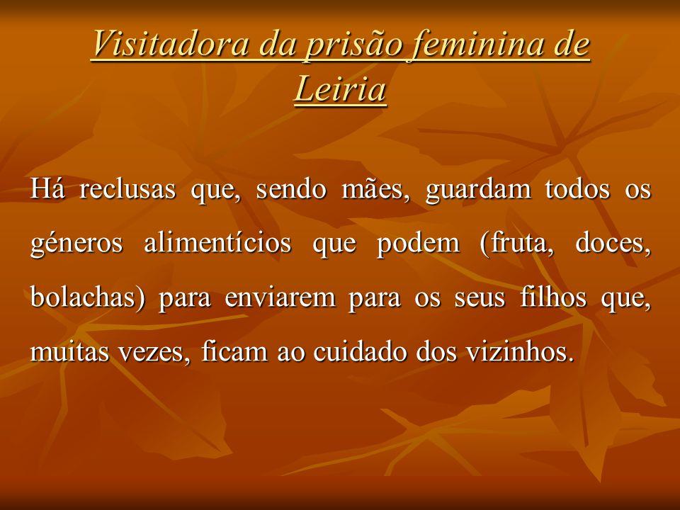 Visitadora da prisão feminina de Leiria