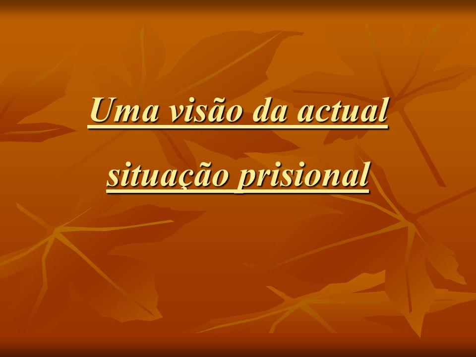 Uma visão da actual situação prisional