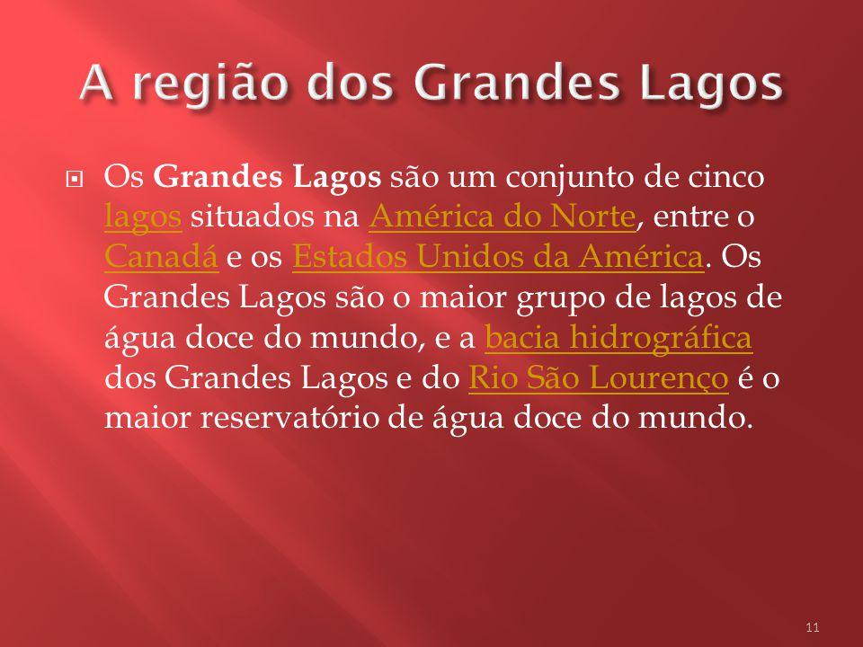 A região dos Grandes Lagos