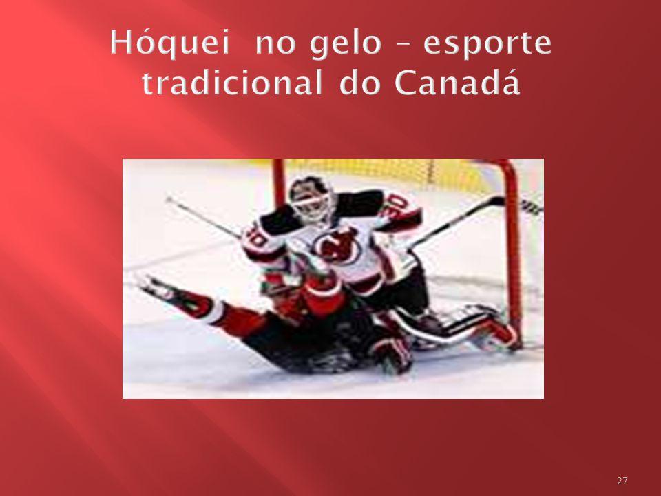 Hóquei no gelo – esporte tradicional do Canadá
