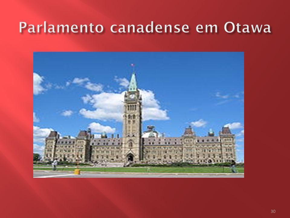 Parlamento canadense em Otawa