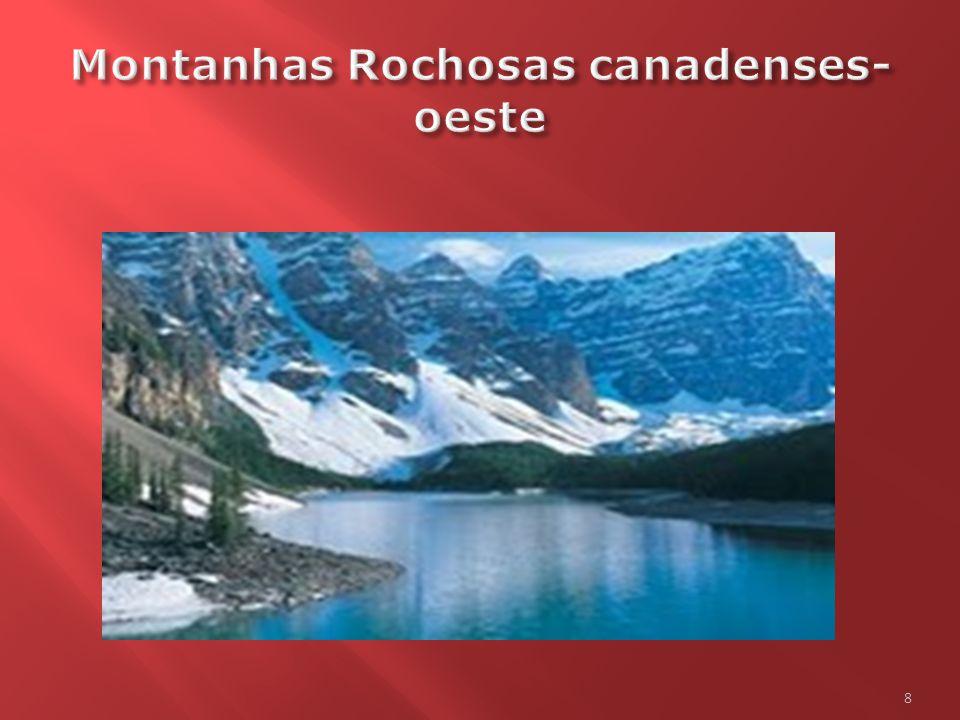Montanhas Rochosas canadenses- oeste