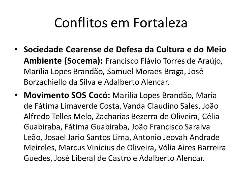 Conflitos em Fortaleza