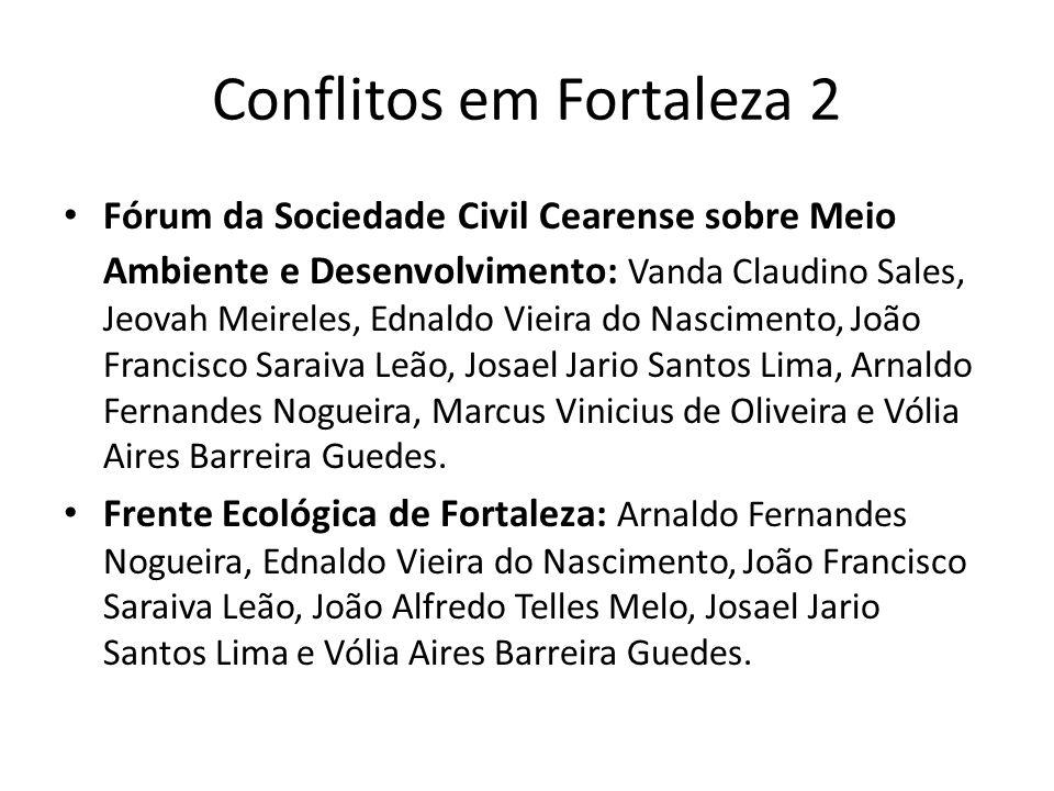 Conflitos em Fortaleza 2
