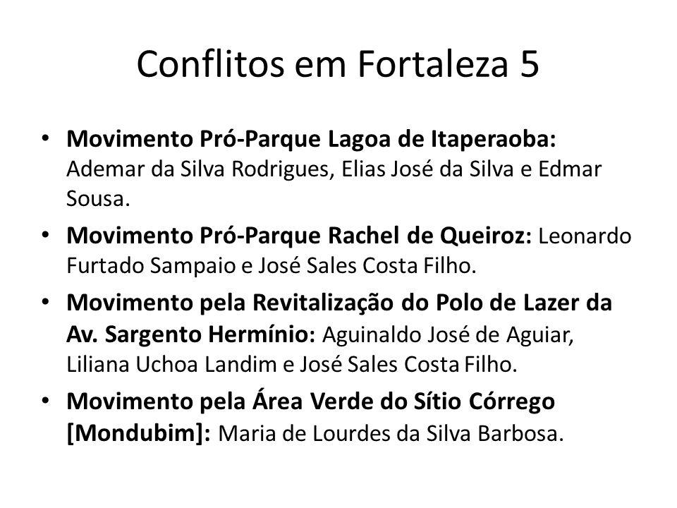 Conflitos em Fortaleza 5
