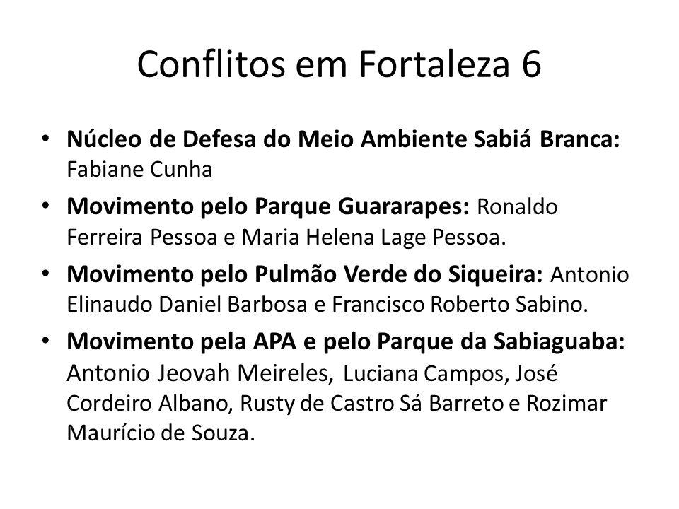 Conflitos em Fortaleza 6