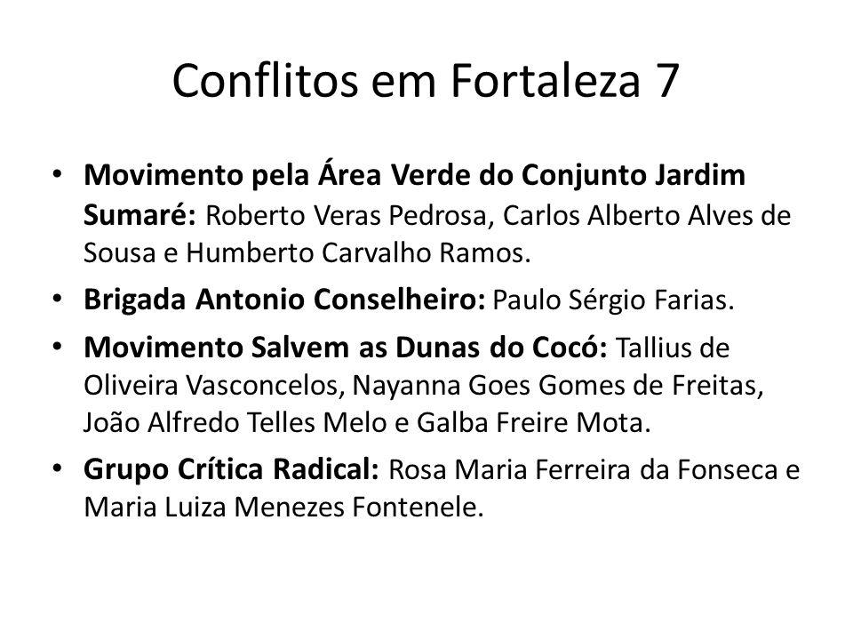 Conflitos em Fortaleza 7