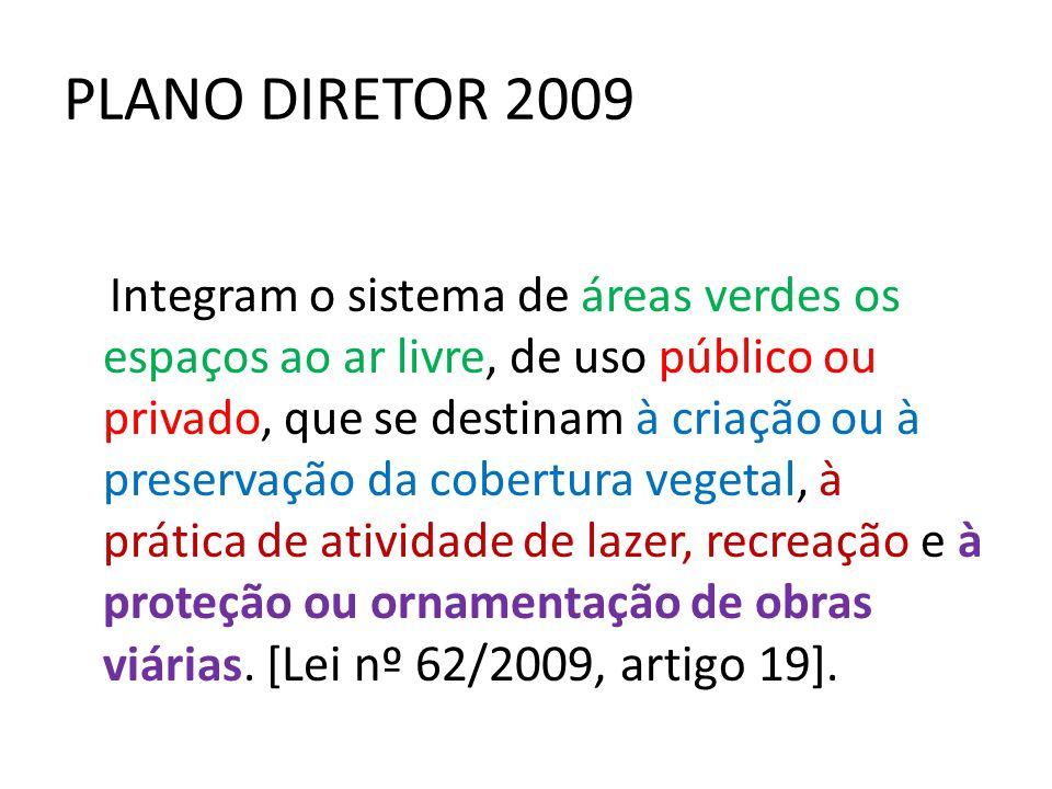 PLANO DIRETOR 2009