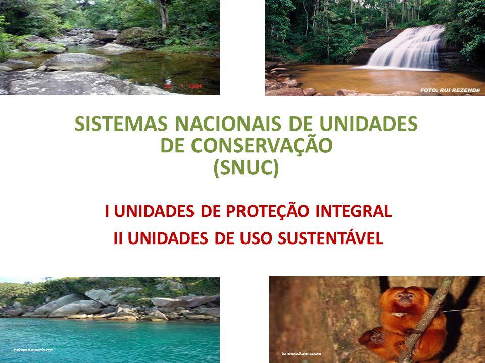 SISTEMAS NACIONAIS DE UNIDADES DE CONSERVAÇÃO (SNUC)