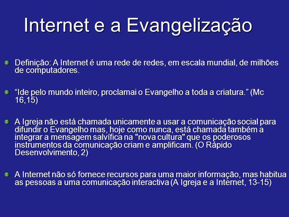 Internet e a Evangelização
