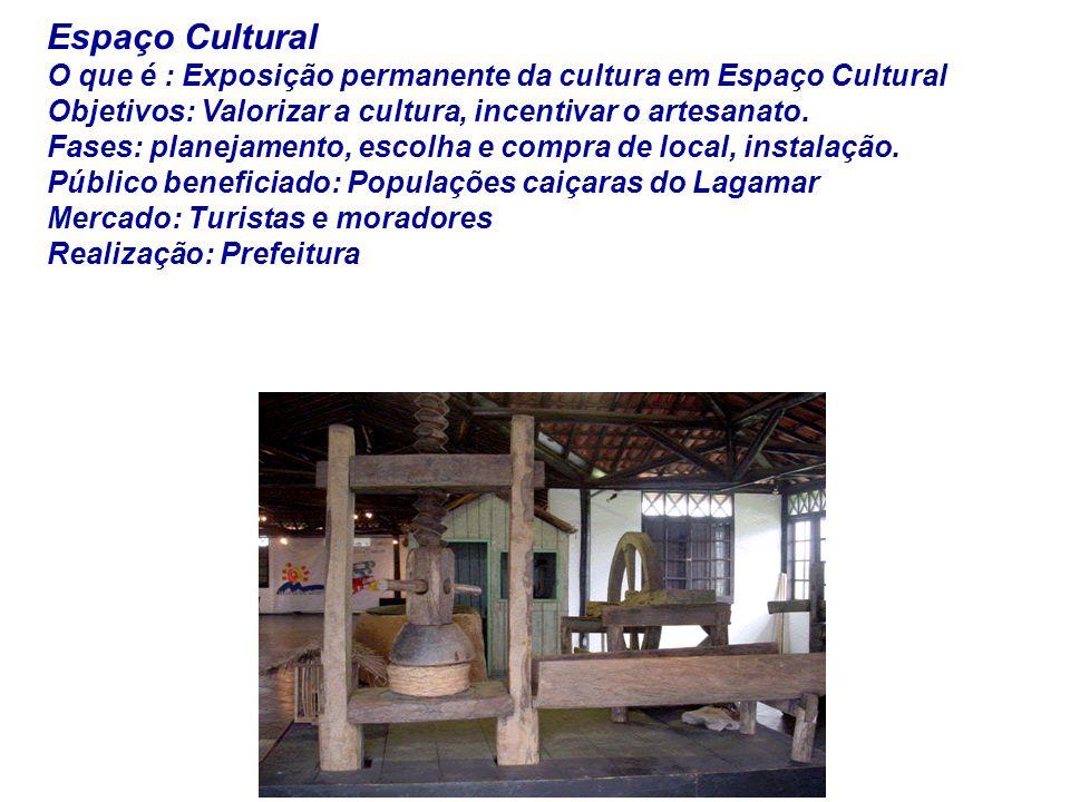 Espaço Cultural O que é : Exposição permanente da cultura em Espaço Cultural.