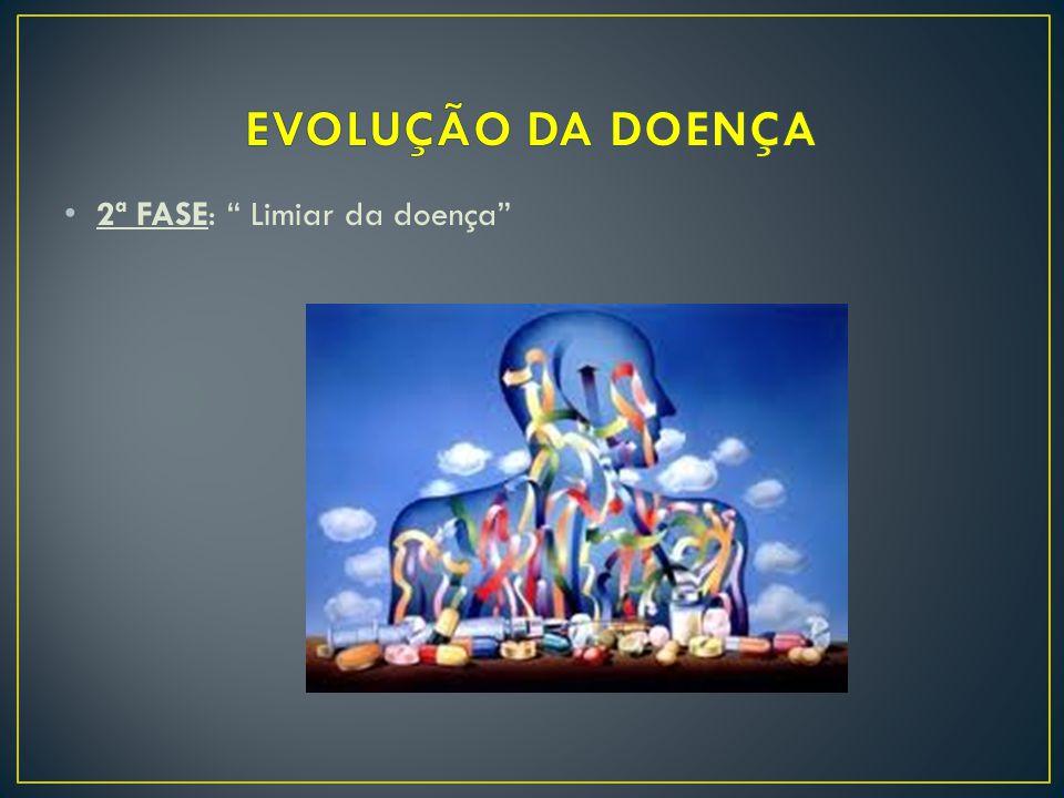 EVOLUÇÃO DA DOENÇA 2ª FASE: Limiar da doença