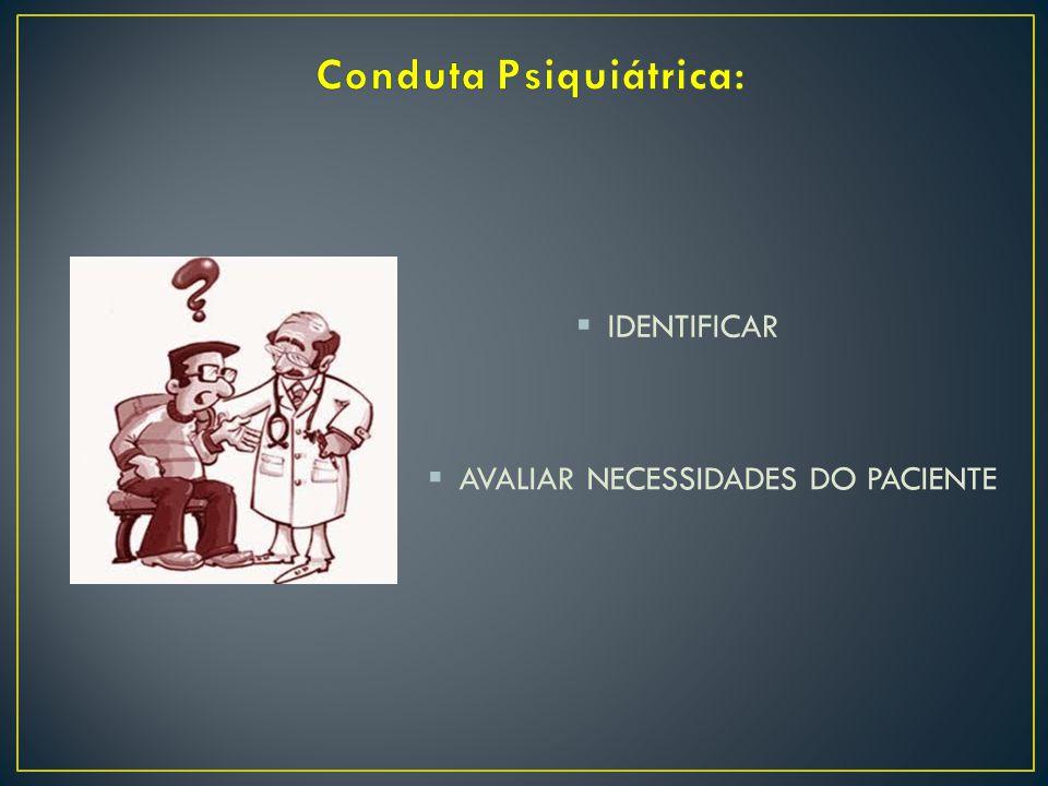 Conduta Psiquiátrica: