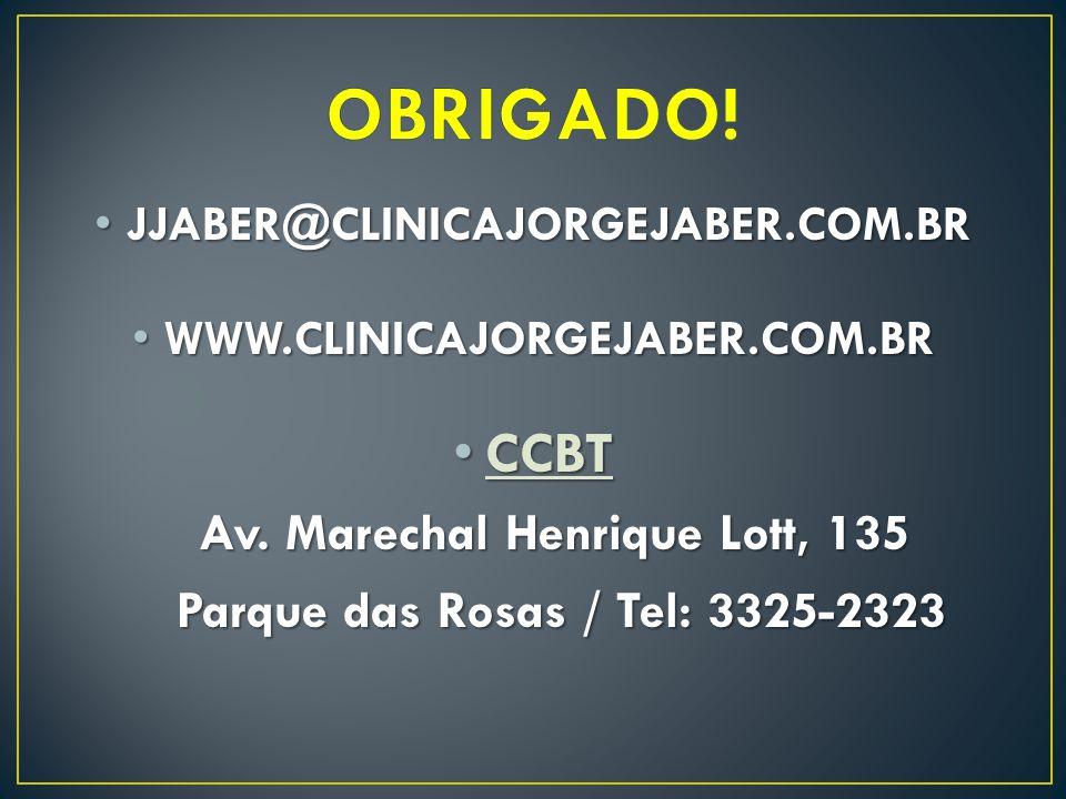 Av. Marechal Henrique Lott, 135 Parque das Rosas / Tel: 3325-2323