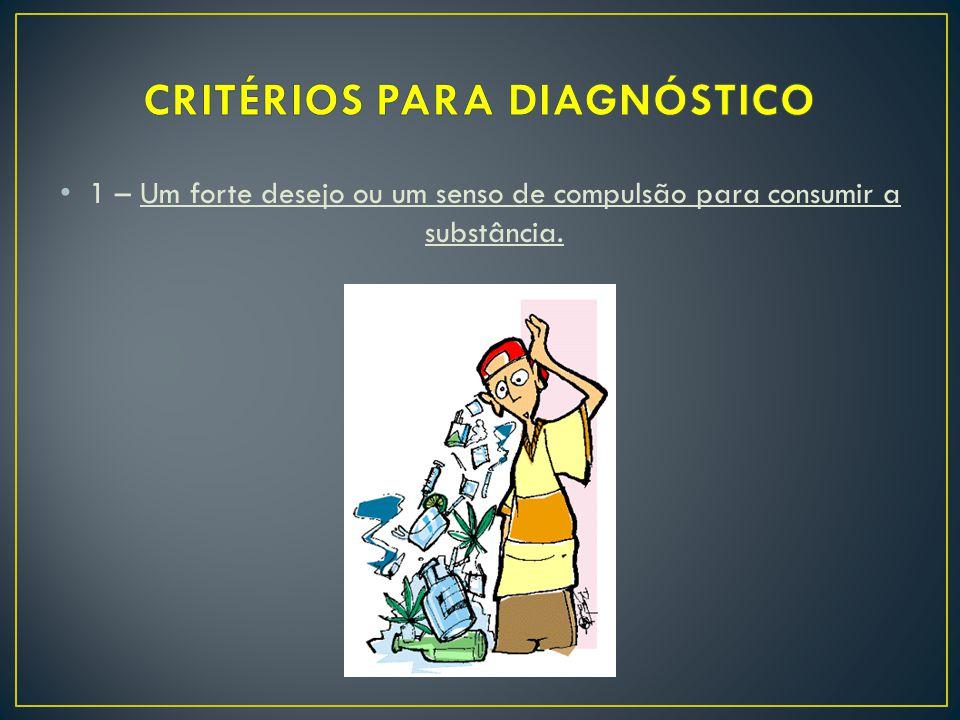 CRITÉRIOS PARA DIAGNÓSTICO