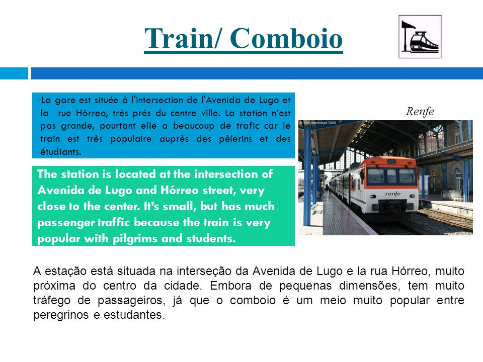 Train/ Comboio