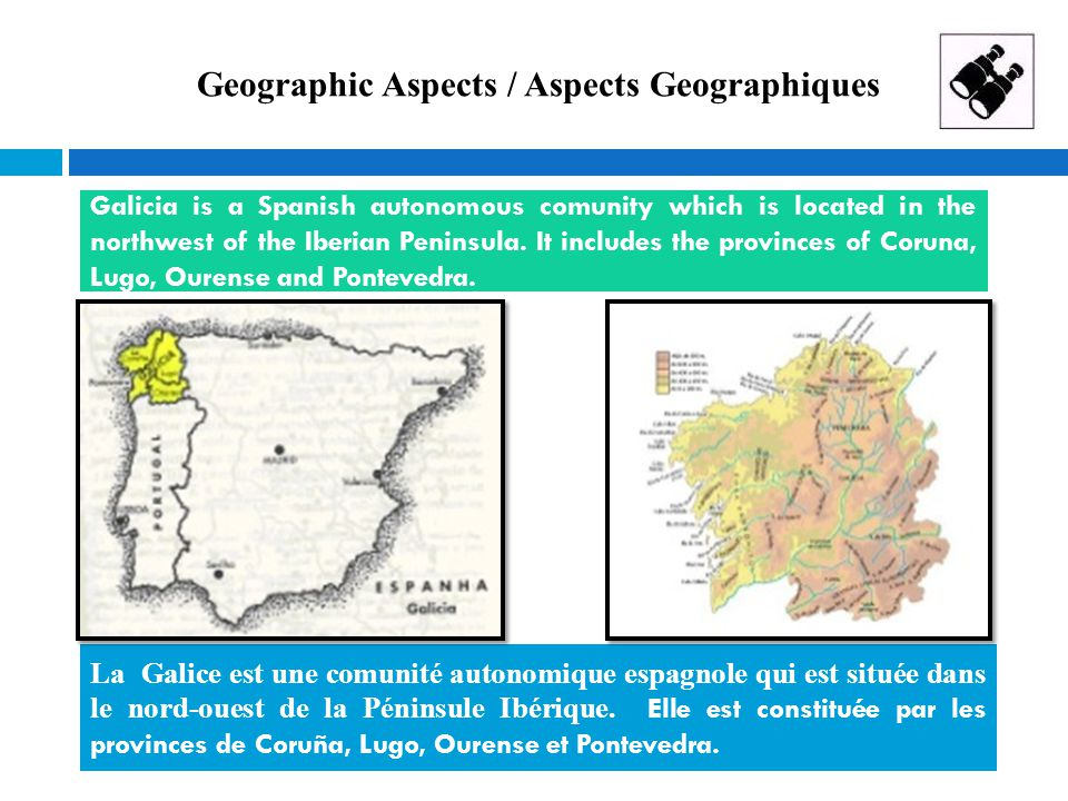 Geographic Aspects / Aspects Geographiques