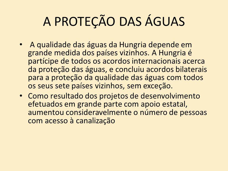 A PROTEÇÃO DAS ÁGUAS