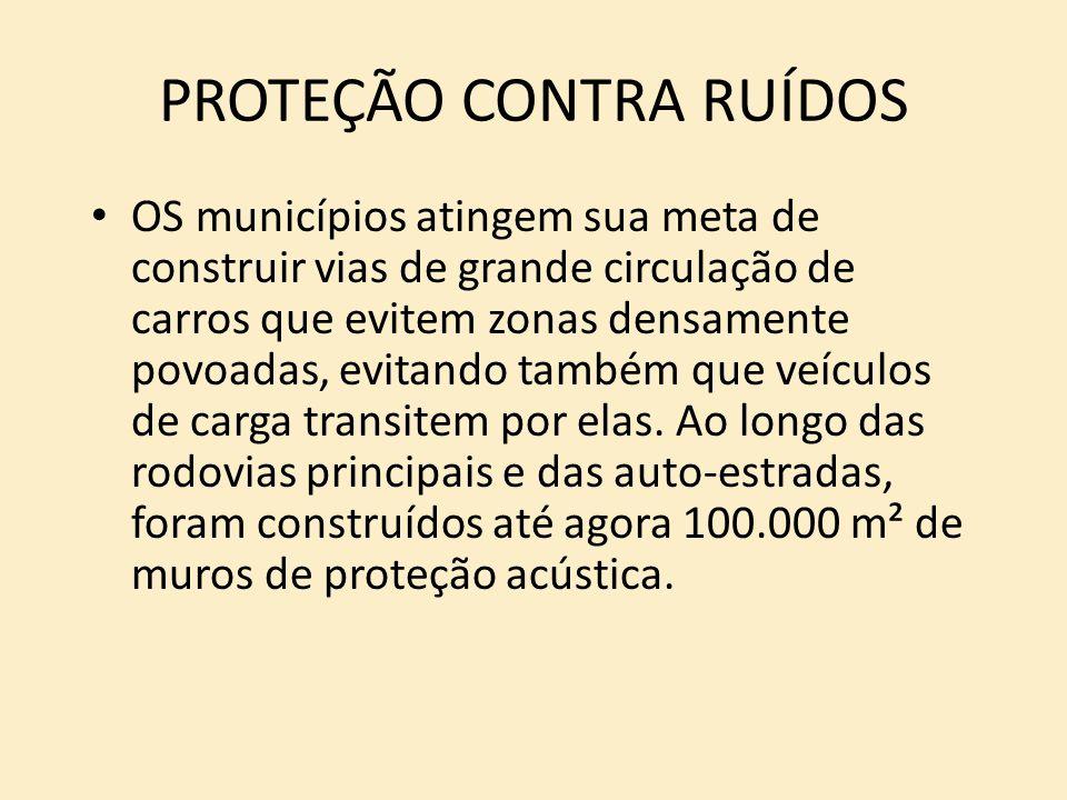 PROTEÇÃO CONTRA RUÍDOS