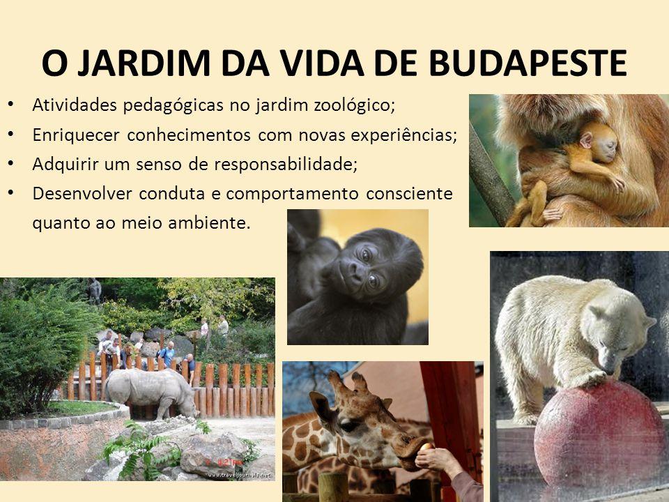 O JARDIM DA VIDA DE BUDAPESTE