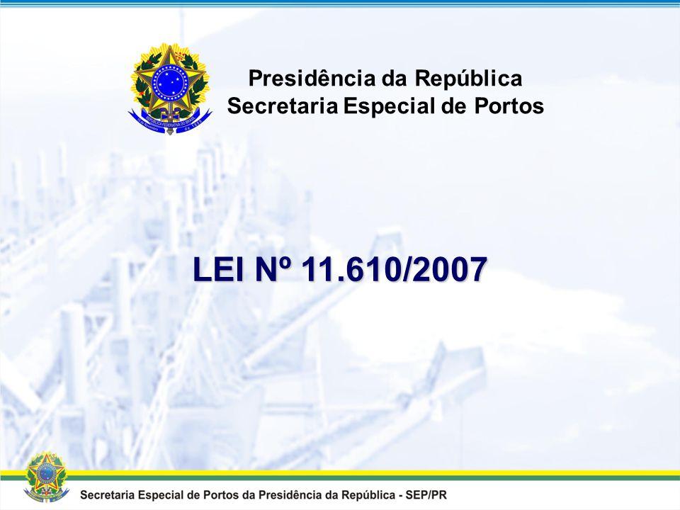 Presidência da República Secretaria Especial de Portos