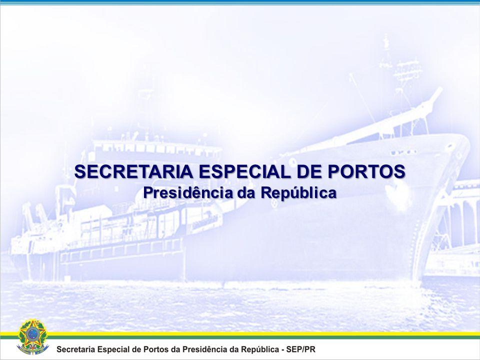 SECRETARIA ESPECIAL DE PORTOS Presidência da República
