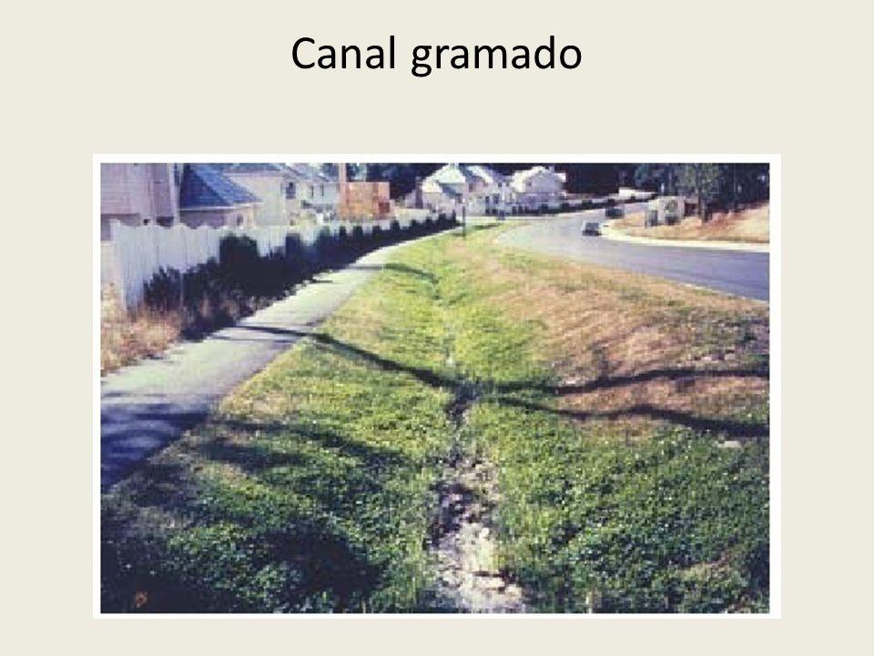 Canal gramado
