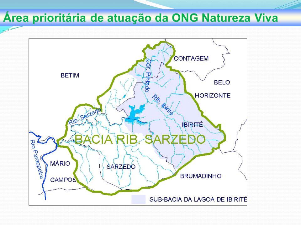 Área prioritária de atuação da ONG Natureza Viva