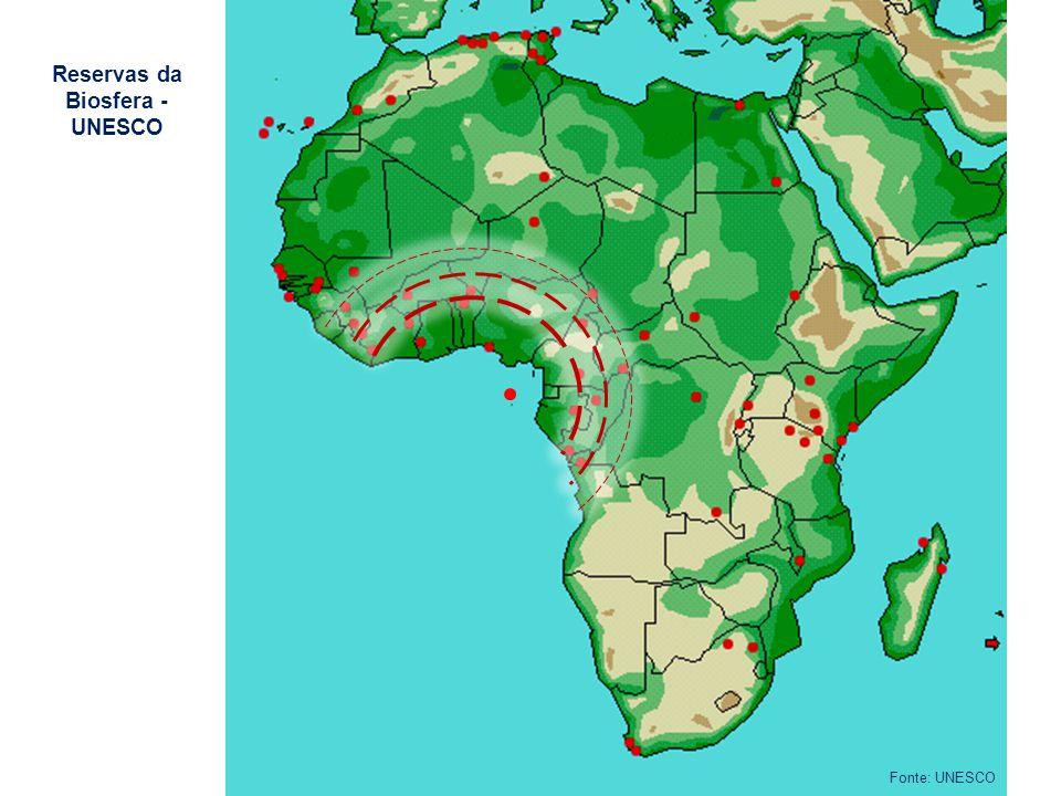 Reservas da Biosfera - UNESCO