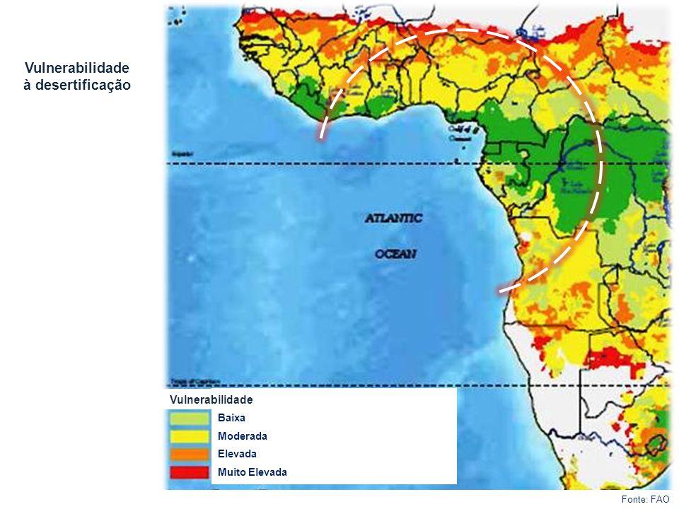 Vulnerabilidade à desertificação