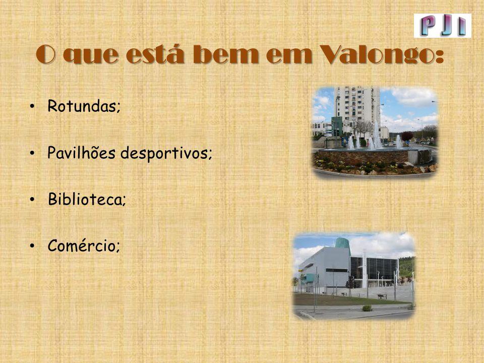 O que está bem em Valongo: