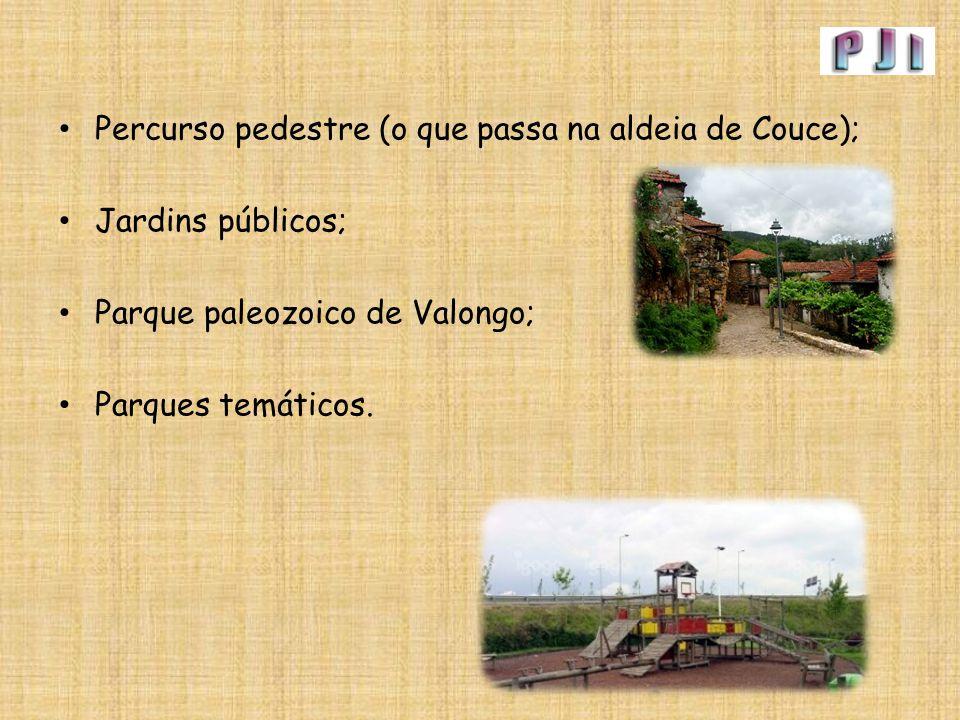 Percurso pedestre (o que passa na aldeia de Couce);