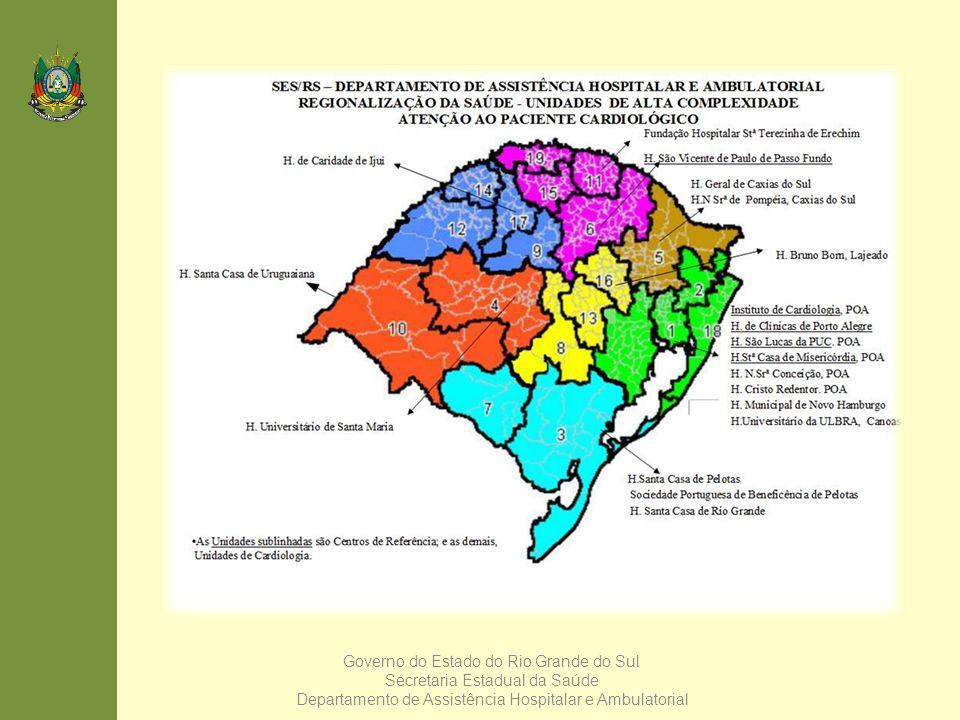 Governo do Estado do Rio Grande do Sul Secretaria Estadual da Saúde