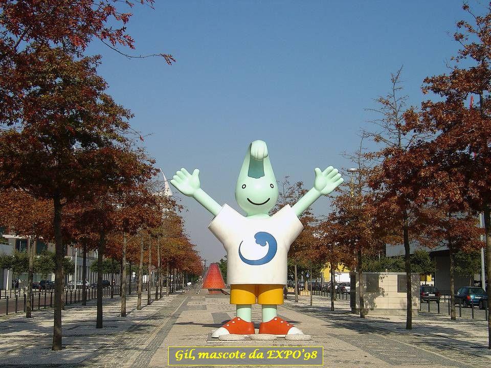 Gil, mascote da EXPO'98