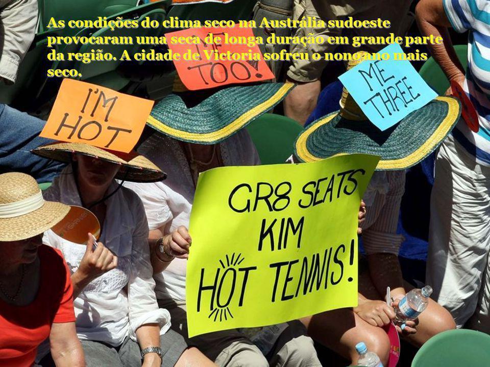 As condições do clima seco na Austrália sudoeste provocaram uma seca de longa duração em grande parte da região.