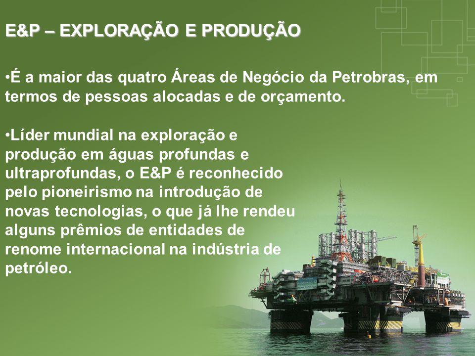 E&P – EXPLORAÇÃO E PRODUÇÃO