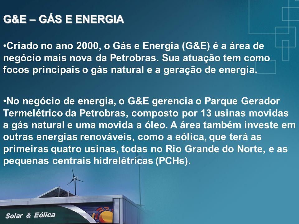 G&E – GÁS E ENERGIA