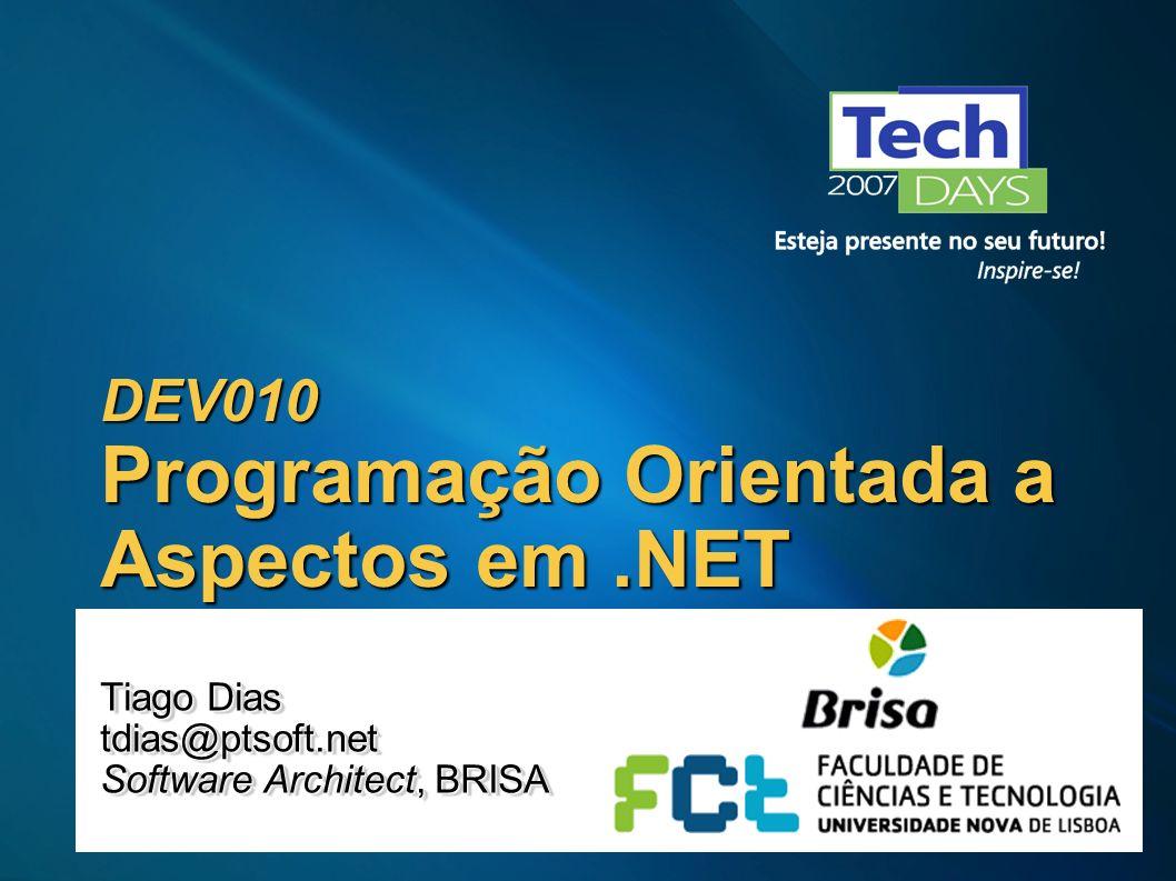 DEV010 Programação Orientada a Aspectos em .NET
