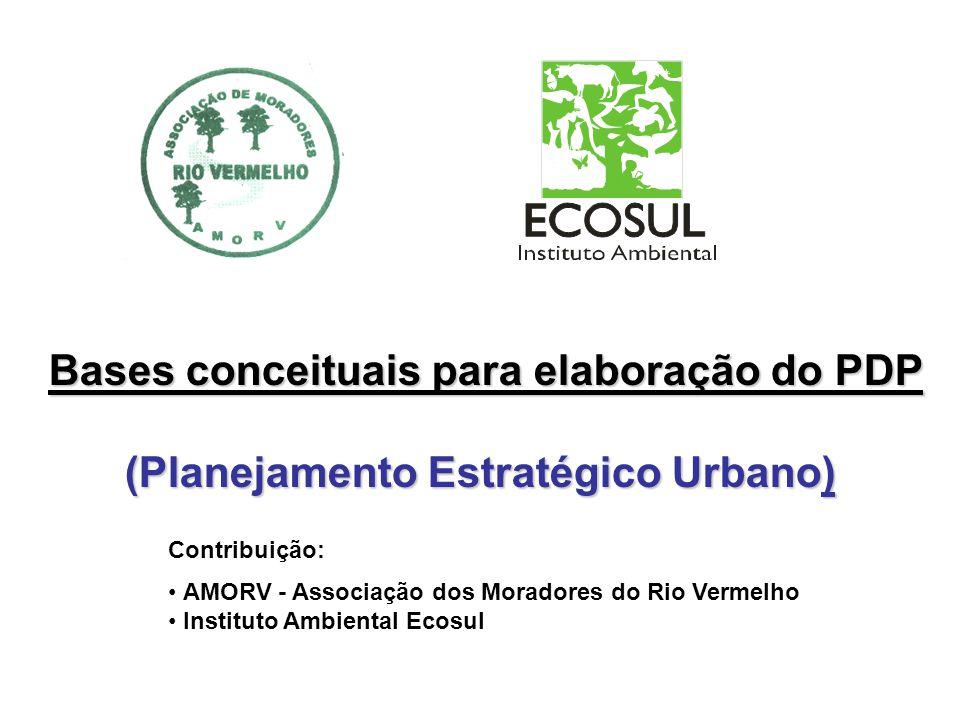 (Planejamento Estratégico Urbano)