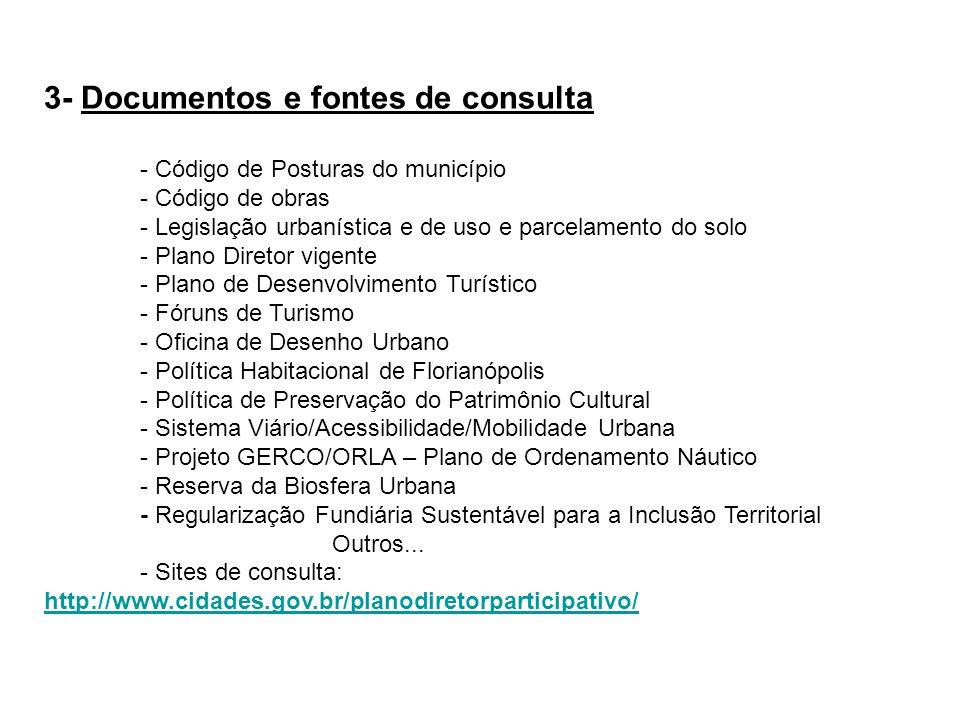 3- Documentos e fontes de consulta