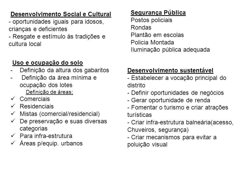Desenvolvimento Social e Cultural